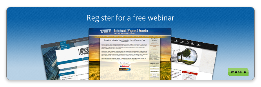 Request a free Site Builder Webinar today!
